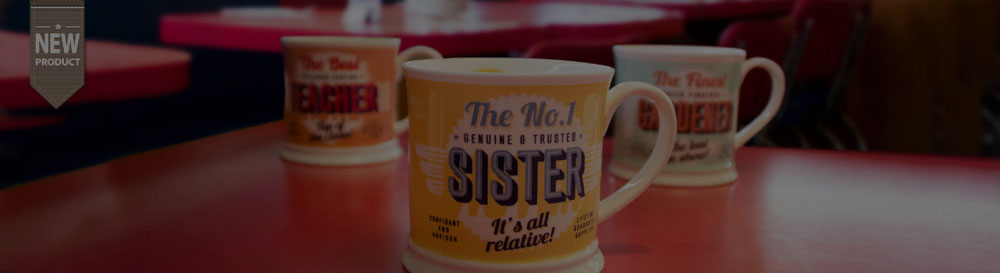 Diner Style Mugs